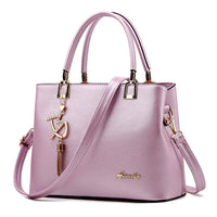 Designer Women Bags Fashion Vintage PU Leather Handbags High Quality Casual Shoulder Messenger Crossbody Totes - Bagssaccessories