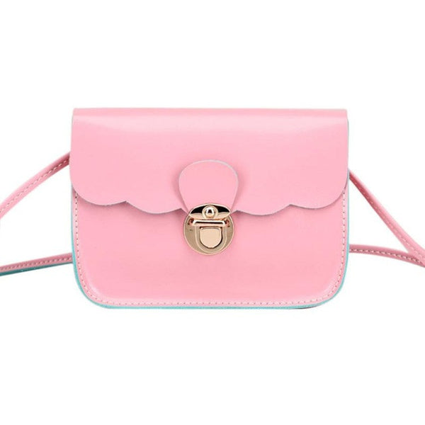 coolshoulderbag 2018 New Style Candy Color Shoulder bags with PU leather Women Handbag Shoulder Bags from our collection - Bagssaccessories