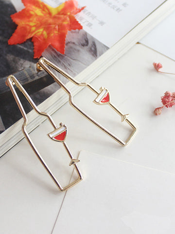 Trendy Metal Geometric Copper Alloy Jewelry