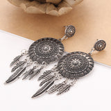 Ethnic Metal Feather Other Jewelry
