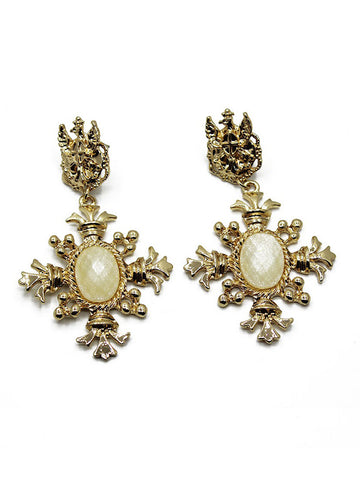 Vintage Classic Metal Cross Zinc Alloy Jewelry