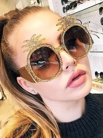 Fashion Ethnic Plastic Sunglasses