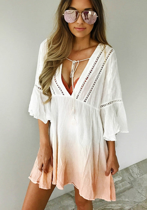 Beach Dress Chiffon Bikini Swimwear Swimsuit Bathing Suit Cover Ups