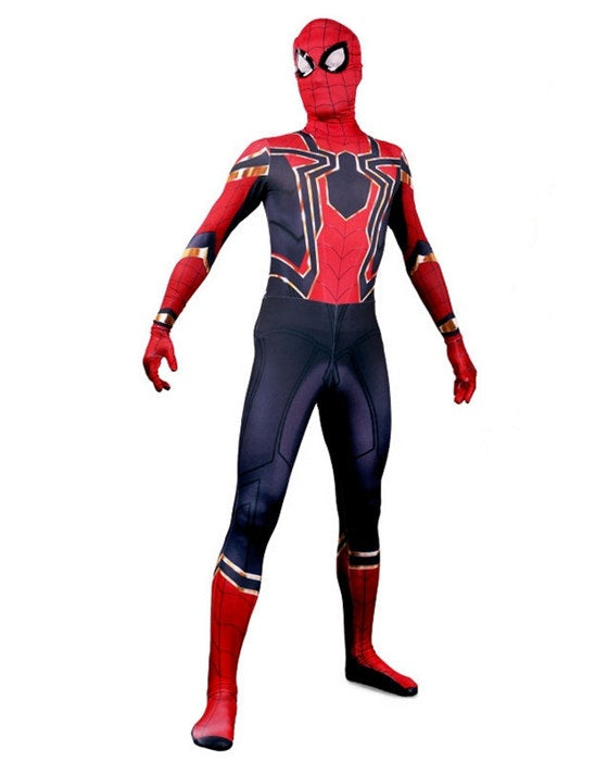 Avengers Infinity War Jumpsuit Spider-Man Cosplay Costume
