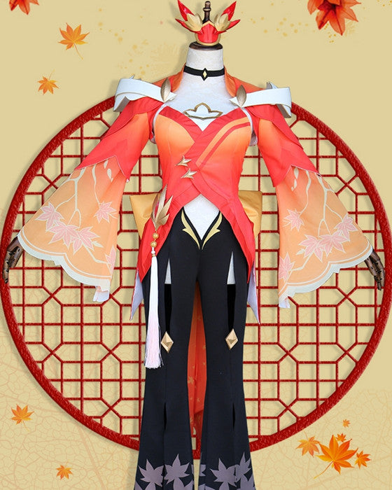 Adult Game Cosplay Costume Gongsun Li Cosplay Costume