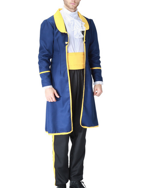 Beauty and The Beast Prince Cosplay Costume Halloween Costume
