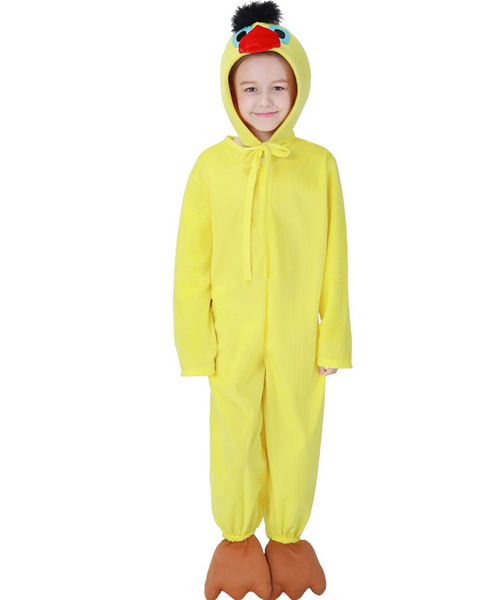 Children's Halloween Costume Chick Cosplay Jumpsuit Cosplay Costume