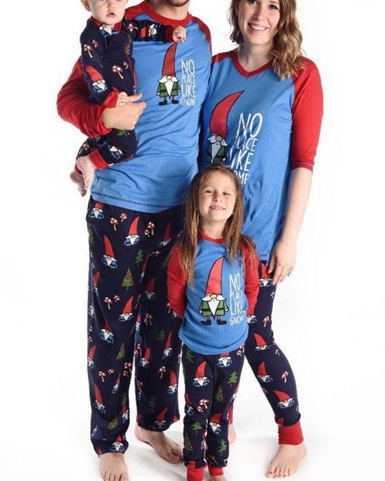 Christmas Print Loungewear Christmas Family Matching Outfits