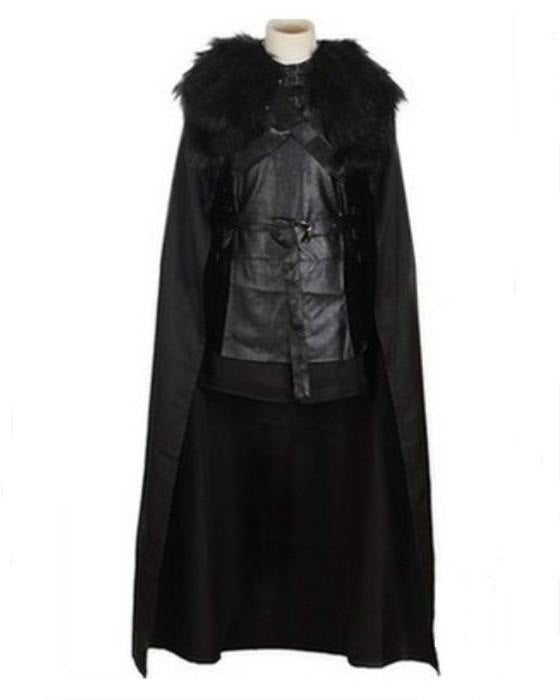 Adult A Game of Thrones Costume A Song of Ice and Fire Jon Snow Cosplay Costume