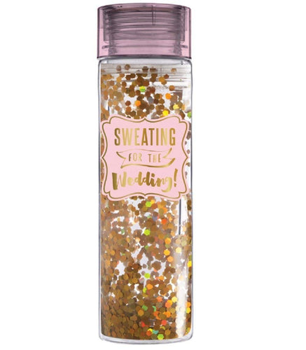 Water Bottle Confetti 16oz, Sweating For the Wedding by Slant