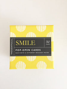 "Pop Open Cards ""Smile"""