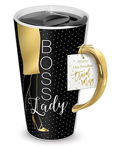 Travel Mug 13oz - Boss Lady by Lady Jane