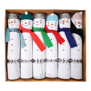 Crackers, Snowman by Meri Meri