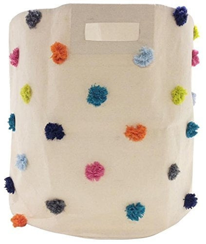 Storage Hamper Multi Pom Pom by Pehr Designs