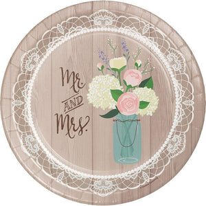Plate Banquet, Rustic Wedding 24ct