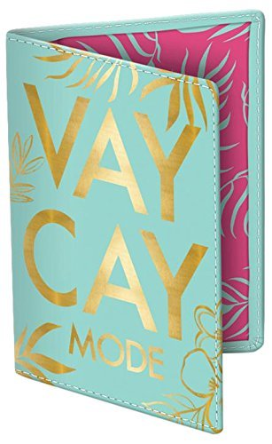 Passport Cover, Vaycay Mode by Lady Jayne