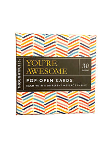 "Pop Open Cards ""You're Awesome """