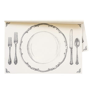 "Paper Placemat, ""Perfect Setting"" by Hester & Cook"
