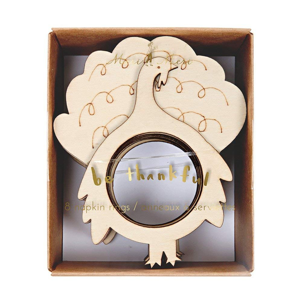 Napkin Rings, Turkey by Meri Meri