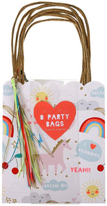 Rainbow/Unicorn Party Bags by Meri Meri
