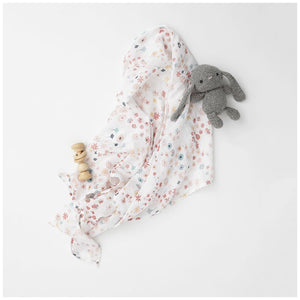 Swaddle, Meadow Pink by Pehr Design