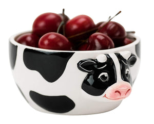 Cow Decorative Serving Bowl