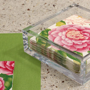 Acrylic Napkin Holder by Caspari
