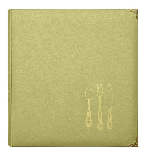 C.R. Gibson Leatherette Recipe Binder