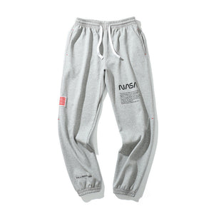 USA Flag Streetwear Space Trousers - Ice Cold Lmnd USA Flag Streetwear Space Trousers
