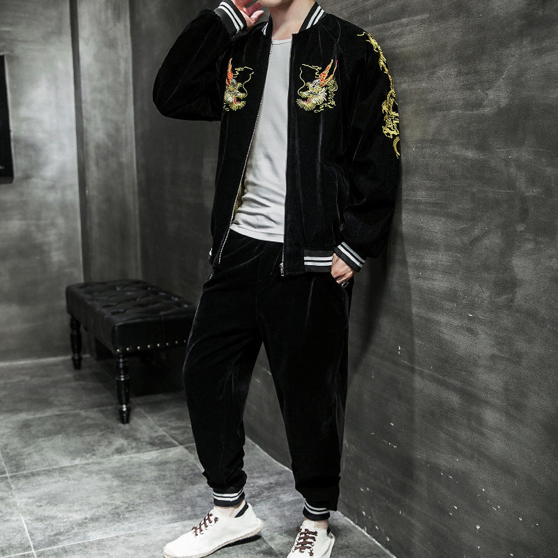 Dragon Bomber Jacket - Ice Cold Lmnd Dragon Bomber Jacket