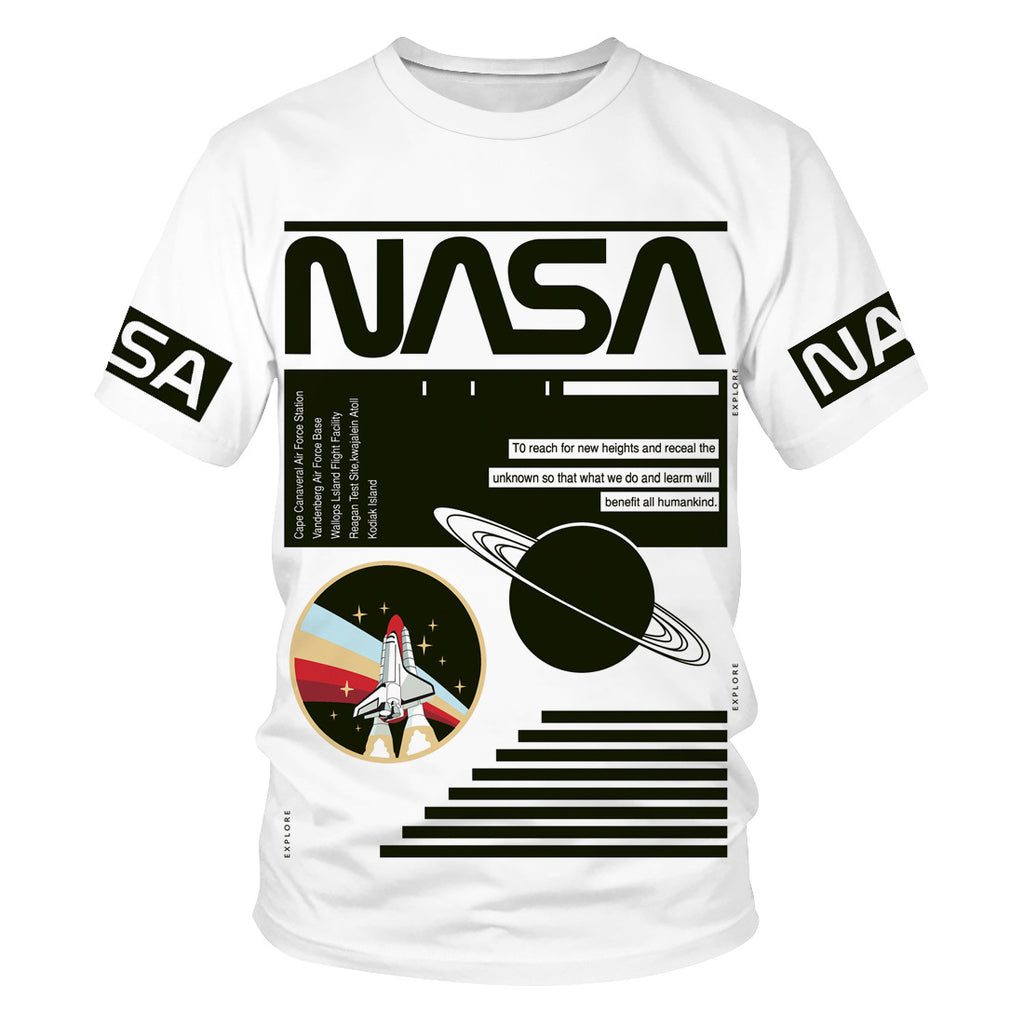 NASA Short Sleeve Tee - Ice Cold Lmnd NASA Short Sleeve Tee