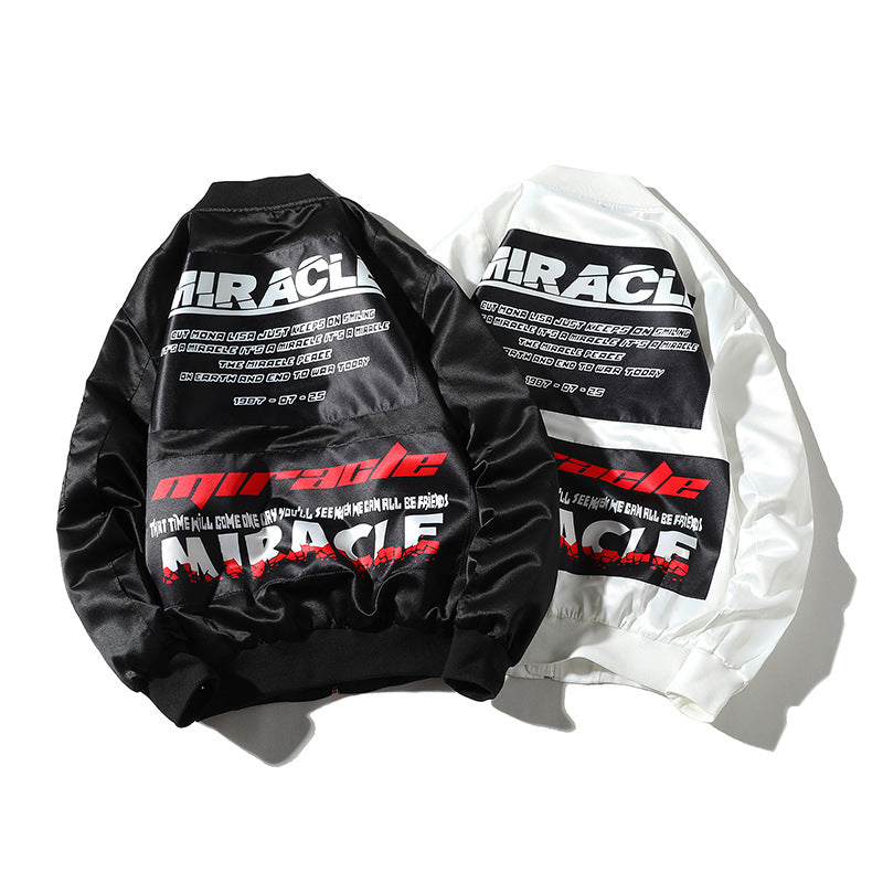 Miracle Bomber Jacket - Ice Cold Lmnd Miracle Bomber Jacket