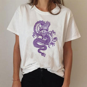 Ulzzang Harajuku Kawaii Chinese Dragon Tee - Ice Cold Lmnd Ulzzang Harajuku Kawaii Chinese Dragon Tee