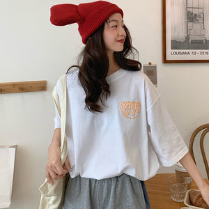 Womens Cartoon Oversized T-Shirt - Ice Cold Lmnd Womens Cartoon Oversized T-Shirt