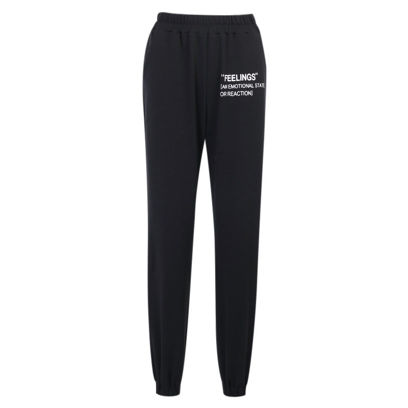Womens 'Feelings' Joggers - Ice Cold Lmnd Womens 'Feelings' Joggers