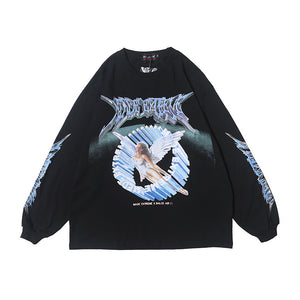Retro Angel Long Sleeve - Ice Cold Lmnd Retro Angel Long Sleeve