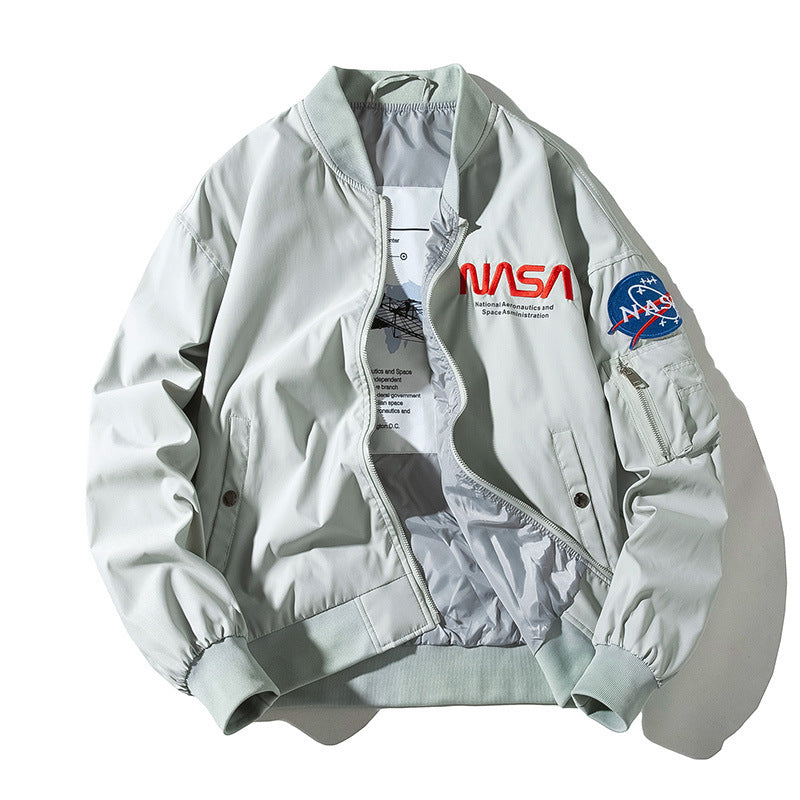 Spaceman NASA Bomber Jacket - Ice Cold Lmnd Spaceman NASA Bomber Jacket