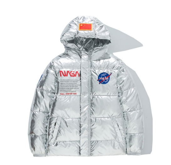 NASA Winter Puffer Jacket II - Ice Cold Lmnd NASA Winter Puffer Jacket II