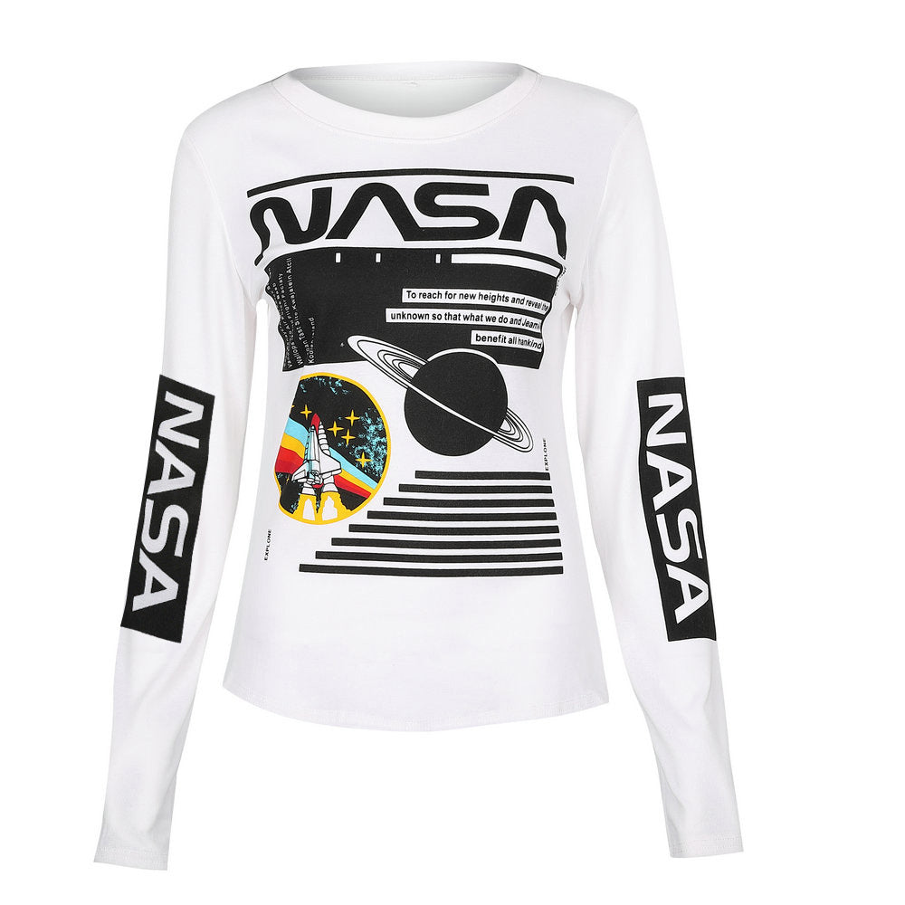 NASA Women's Long Sleeve - Ice Cold Lmnd NASA Women's Long Sleeve