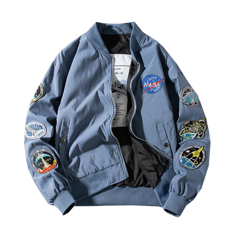 NASA Pilot Bomber Jacket - Ice Cold Lmnd NASA Pilot Bomber Jacket