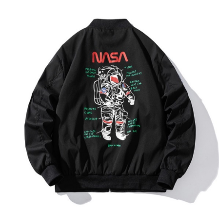 Spacesuit NASA Bomber Jacket - Ice Cold Lmnd Spacesuit NASA Bomber Jacket