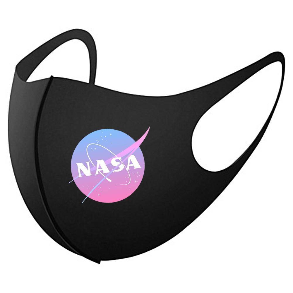 NASA Faded Face Mask - Ice Cold Lmnd NASA Faded Face Mask