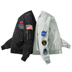 NASA Star Bomber Thick Jacket - Ice Cold Lmnd NASA Star Bomber Thick Jacket