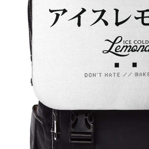 Don't Hate // Ice Cold Lemonade Backpack - Ice Cold Lmnd Don't Hate // Ice Cold Lemonade Backpack