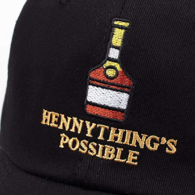 Ice Cold Lmnd hat Black Hennything's Possible Dad Hat ice cold lmnd streetwear