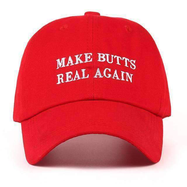 Make Butts Real Again Dad Hat - Ice Cold Lmnd Make Butts Real Again Dad Hat