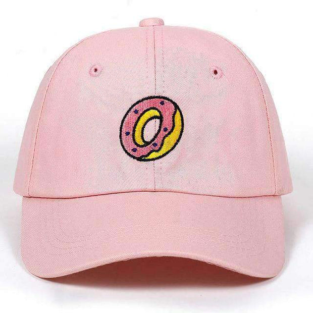 Ice Cold Lmnd hat Pink mmmm Doughnuts Dad Hat ice cold lmnd streetwear