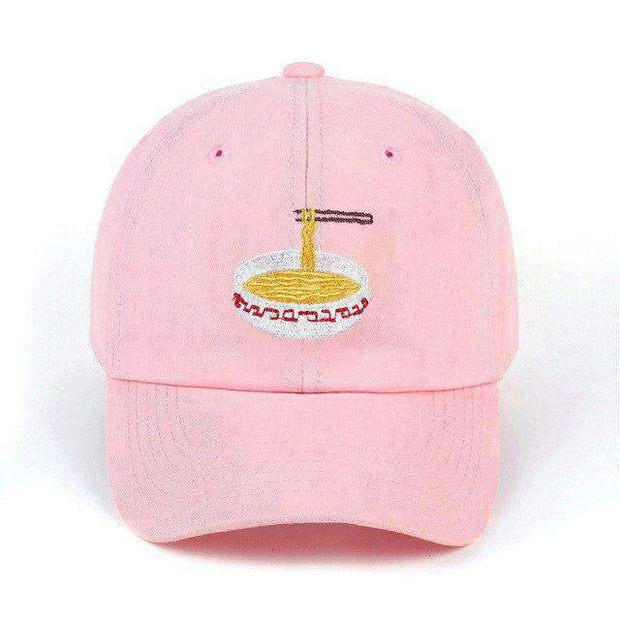 Ice Cold Lmnd hat Pink Ramen Dad Hat ice cold lmnd streetwear