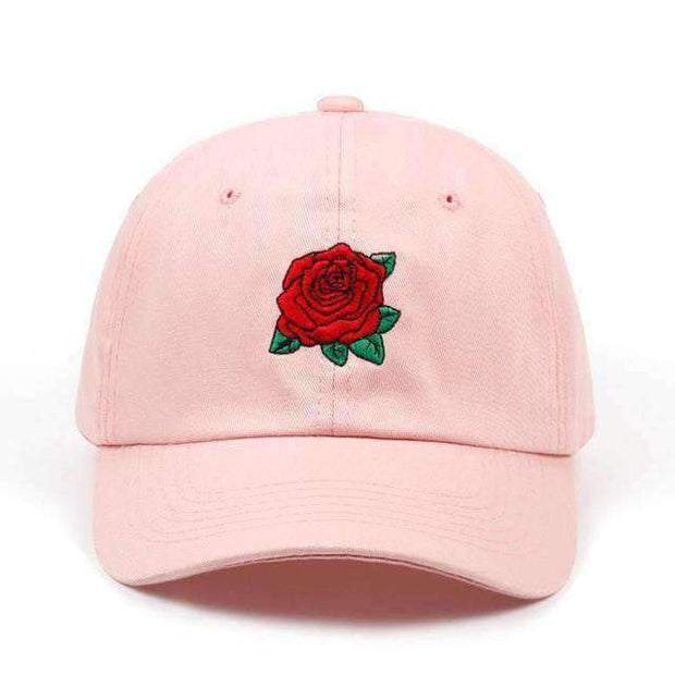 Ice Cold Lmnd hat Pink Rose Dad Hat ice cold lmnd streetwear