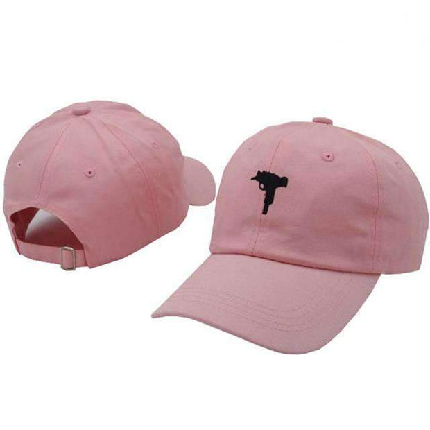 Ice Cold Lmnd hat Pink Uzi Dad Hat ice cold lmnd streetwear